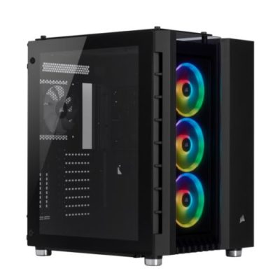 Corsair Crystal Series 680X RGB Gaming Case with Tempered Glass Window
